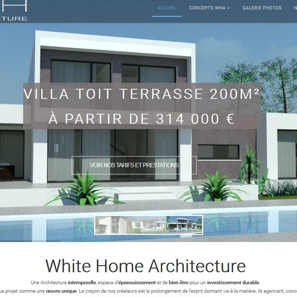 White Home Architecture